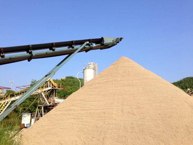 再生砂製造
