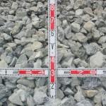 栗石(100mm - 150mm)